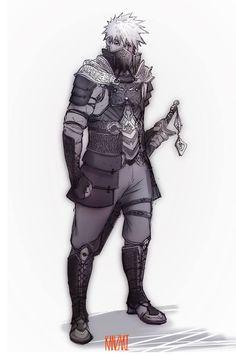 Medieval Kakashi