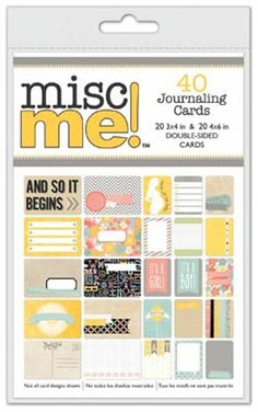 Misc Me Baby Bump 4x6 & 3x4 Journal Pack 4.79