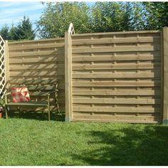 Horizontal Cedar Fence Horizontal Fences Pinterest