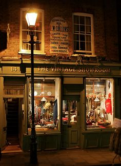 The Vintage Showroom, Seven Dials, London