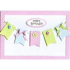 First Edition - 6 x 6 Paper Pack - Floral Pavilion, Memory Box Tiny Bow, Anita's… Simple Birthday Cards, Girl Birthday Cards, Baby Girl Cards, Baptism Cards, Memory Box Cards, Craftwork Cards, Kids Cards, Cute Cards, Creative Cards