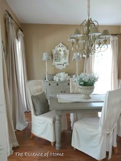 The Essence of Home: Summer Fresh - drapes