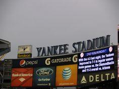 watch a match at the Yankee Stadium!