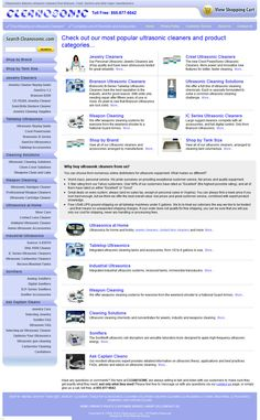 Equipment and information - Over 25 years of experience in ultrasonic cleaning