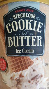This # speculoos #traderjoes #icecream is insanely good!