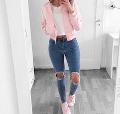 Bianca High waist Ripped jeans Light