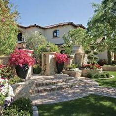 Wonderful Mediterranean Inspired Garden   Phoenix Home U0026 Garden