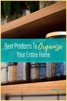 Home Organization Products That Work - Get Rid Of Clutter With These Products - Organization Tips and Tricks For Home Entryway Organization, Small Space Organization, Home Organization Hacks, Organizing Ideas, Organizing Clutter, Organizing Your Home, Pantry Storage Containers, Getting Rid Of Clutter, Declutter