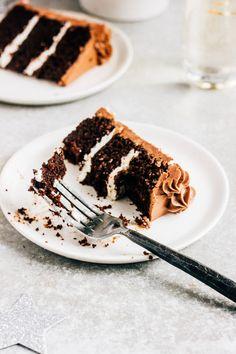 Chocolate Champagne Cake