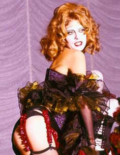 Susan Sarandon in'The Rocky Horror Picture Show', 1975.