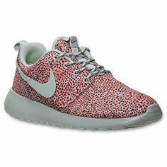 Women's Nike Roshe Run Print Casual Shoes| FinishLine.com |