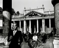 """Tettuccio spa, Montecatini Terme, Tuscany, Italy,  by Helmut Newton  From """"The Burning Secret,"""" April 1989"""