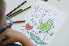Harjoitellaan hienomotorisia taitoja hauskojen ruoka-aiheisten väritystehtävien avulla.  Katso lisää nettisivuiltamme!  Avainsanat: 3-5v 5-7v Kasvikset ja hedelmät Pienryhmätoiminta Taiteellinen kokeminen Yksilötehtävä Office Supplies