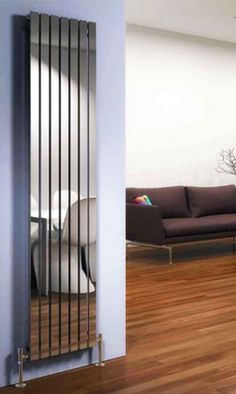 Buy this DQ Heating Delta Stainless Steel Vertical Designer Radiator from Only radiators and get excellent customer care, a great price and Free UK Delivery House Design, Room, Room Design, House, Home, Radiators Living Room, Designer Radiators Living Rooms, Interior Design, Decorative Radiators