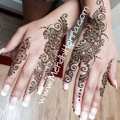 Mehndi // henna pinned via @Sahrazade