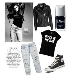 """Untitled #7"" by simonatoea ❤ liked on Polyvore featuring IRO, Wet Seal, Converse and Christian Dior"
