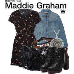 Inspired by Jessica Sula as Maddie Graham on Recovery Road - Shopping info! Tv Show Outfits, Cute Outfits, Jessica Sula, Character Inspired Outfits, J Brand, Gorgeous Women, Outfit Of The Day, Recovery, Glamour