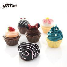 6 bonito delicioso Cupcake hidratante Natural Lip Balm lábios do bebê gloss embelezar Lip Care Balm(China (Mainland))