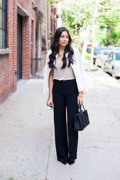 Have a Big Job Interview? 21 Outfits Thatll Have You Looking Professional Glamsugar.com Chic and Stylish