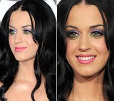 Katy Perry Inspiração: maquiagem para o carnaval