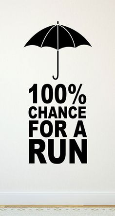 This running removable wall decal takes any space from boring to fitness inspired! Add some running character to your room! It makes an awesome running gift for any runner!