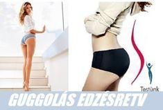 Feszes popsit szeretnél? Itt az otthoni edzésterv nőknek - 30 napos guggolás, mint a legjobb Otthoni edzés, Edzés és gyakorlatsor nőknek Trx, Bikinis, Swimwear, Health Fitness, Wellness, One Piece, Exercise, Yoga, Sports