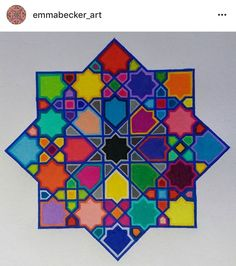 Islamic Art Pattern, Arabic Pattern, Pattern Art, Arabic Design, Arabic Art, Arabesque Pattern, Art Asiatique, Art Decor, Decoration