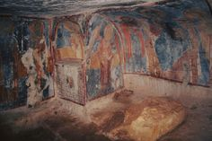 Incantevole chiesa di San Lorenzo presso #lamadantico!  #frescos #painting #chiesa #rupestre #Puglia
