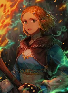 Zelda: Breath of the Wild 2 - portraits by selected artists: ED Kim, Viktoria Gavrilenko, Limetown Studios, blazpu, TheCecile Nintendo Art, Character Art, Legend, Game Character, Art, Anime, Portrait, Fan Art, Legend Of Zelda