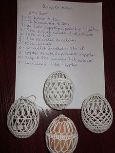 Easter Egg Pattern, Easter Crochet, Yarn Crafts, Easter Eggs, Free Crochet, Projects To Try, Crochet Patterns, Place Card Holders, Holiday