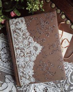 Блокноты ручной работы: Brussels Lace