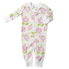 Hanna Andersson Organic Cotton Baby Sleeper - Anna Floral | Serena & Lily