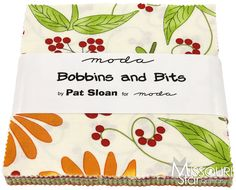 Bobbins and Bits Charm Pack from Missouri Star Quilt Co