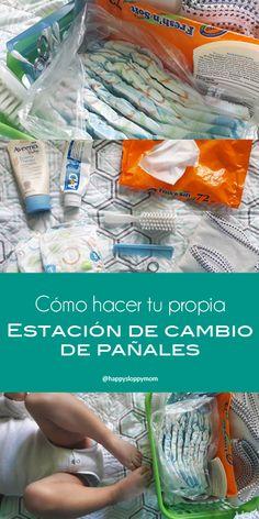 #DIY Changing Station - DIY Estación de cambio de #pañales #bebes #reciennacidos #newborn #diapers #nursery