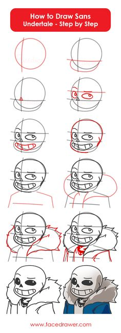 Do you like Sans form Undertale? Today you can learn how to draw Sans from Under. How To Draw Sans, Learn To Draw, Art Reference Poses, Drawing Reference, Undertale Drawings, How To Draw Undertale, Sans Art, Undertale Comic Funny, Character Design Tutorial