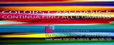 COLORSCANDANCE la mostra continua... Art Supplies, Color, Colour, Colors