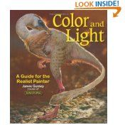 Color and Light: A Guide for the Realist Painter (James Gurney Art) (Paperback)   this Book is really a MUST HAVE for every Artist! It does tell you how things change in different lightning, how colors change and with a whole chapter about color relationships and color theory it helps you to really draw realisticly. Can only recommend this book. Would be happy if you click on my Aff link if you think of purchasing it ( I will get a small compensation with no extra cost for you)