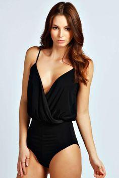 Sophie Wrap Front Bodysuit
