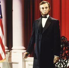 audio-animatronics- Abraham Lincoln, which debuted at the 1964–65 New York World's Fair, is now in the Great Moments with Mr. Lincoln at Disneyland.