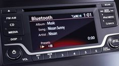 Nissan Sunny Features - Bluetooth hands free phone system. You can even store your address book.