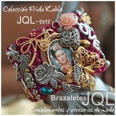Colección #Frida #Kahlo JQL-2015 síguenos por Facebook, #Brazaletes JQL…