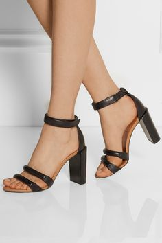 See by Chloé|Cara leather sandals|NET-A-PORTER.COM