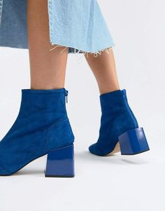 f21b53cf4 ASOS DESIGN Rome leather ankle boots Boots by ASOS DESIGN, It's an  eye-catching