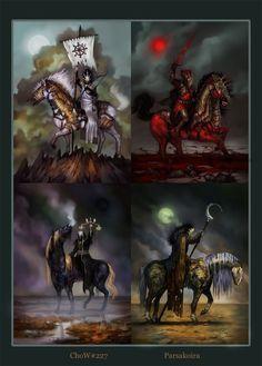i 4 cavalieri dell'apocalisse
