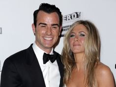A glowing Jennifer Aniston and fiance Justin Theroux at the 26th American Cinematheque Award Gala honoring Ben Stiller at The #BeverlyHilton Hotel in Beverly Hills on November 15, 2012.  http://celebhotspots.com/hotspot/?hotspotid=5354&next=1