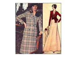 Vintage Vogue 1112 Paris Original Givenchy by PrettyPatternShop, $11.95