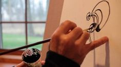 Valenti Cycling Art on Vimeo, the artist Michael Valenti talks about his work.