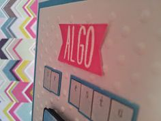Tarjeta embossing #card #embossing #lawnfawn #tarjeta