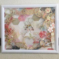 ご祝儀袋で作る水引ボードのリメイクデザインまとめ | marry[マリー] Harry Birthday, Flower Circle, Diy Wedding, Merry Christmas, Frame, Happy, Flowers, Crafts, Inspiration