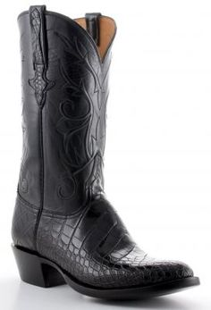 Lucchese American Gator Belly Boots - Wish I could afford these puppies